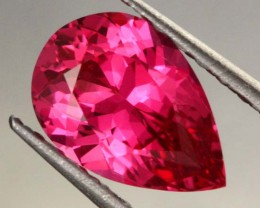 1.41 CTS CERTIFIED HOT PINK SPINEL- NATURAL-RUBY LIKE MAHENGE [SPN53]