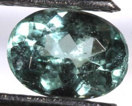 GIA CERTIFIED TOURMALINE FACETED STONE 0.49 CTS  GC