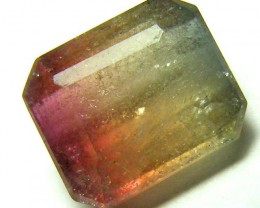 2.14CTS  WATERMELON TOURMALINE FACETED STONE   PG-1844