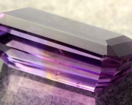 This is from a parcel of rough  ametrine we bought-we have also listed some of the rough under QUALITY ROUGH