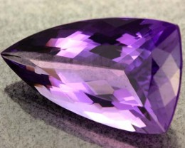 Natural dark purple  stones like this are becoming harder to find.