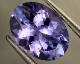0.80 CTS VVS TANZANITE STONE - WELL CUT [S6526]