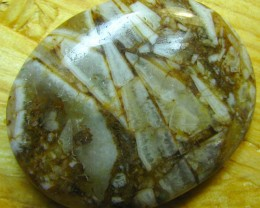 BRUSH AGATE CABOCHON CUT STONE 45.60 CTS