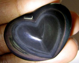 MEXICAN CHATOYANT OBSIDIAN  54.65 CARATS  RT606