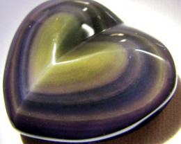 MEXICAN CHATOYANT OBSIDIAN 50 CARATS  RT 623