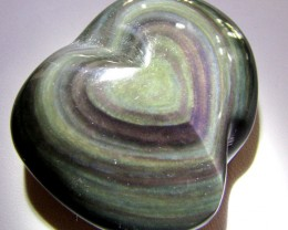 MEXICAN CHATOYANT OBSIDIAN  277 CARATS  RT 639