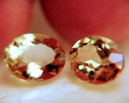 4.89 Tcw. Golden Beryls - VVS1 Clarity - Superb Gems