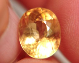 6.54 Carat Golden Calcite Beauty - VVS1
