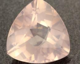 10.65 CTS VVS FACETED ROSE PINK QUARTZ   [S7247]