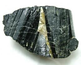 144gms Natural Afghanistan Black Tourmaline Rough R101