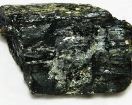 142gms Natural Afghanistan Black Tourmaline Rough R103