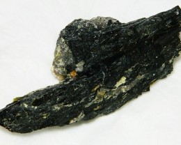 258gms Natural Afghanistan Black Tourmaline Rough R105