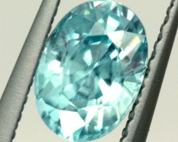 BLUE ZIRCON FACETED STONE 1.10 CTS PG-1033