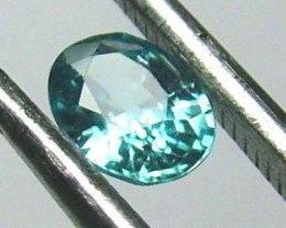 BLUE ZIRCON FACETED STONE 1 CTS FP-2177 (PG-GR)