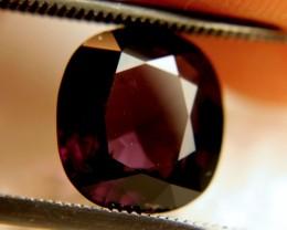 CERTIFIED - 3.86 Carat VVS Spinel - Elegant Deep Color