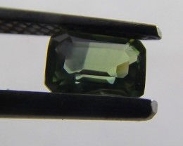 0.69ct Blue / Greenish Natural Sapphire mined in Queensland