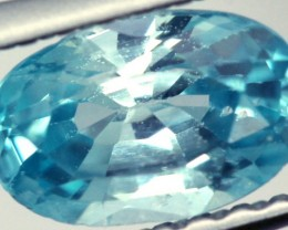 BLUE ZIRCON FACETED STONE 0.95 CTS PG-882