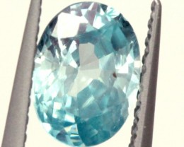 BLUE ZIRCON FACETED STONE 1.20 CTS PG-1023
