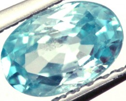 BLUE ZIRCON FACETED STONE 0.90 CTS PG-1038