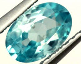 BLUE ZIRCON FACETED STONE 0.90 CTS  PG-1043