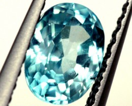 BLUE ZIRCON FACETED STONE 1 CTS  PG-1142
