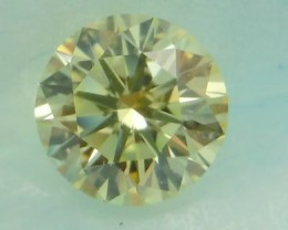 NATURAL YELLOW-WHITEDIAMOND-VS,0.25CTW-2PCSPAIR,4MMSIZE,NR