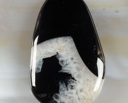 AWESOME  BLACK DRUSY DRUZY AGATE PENDANT BEAD 199.15 CTS