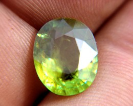 Refractive Index of 1.843 to 2.110, one of the mosting sparkling of all colored Gems.