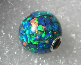MOSAIC OPAL BEAD 10mm Round