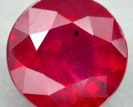 RUBY 2.80 CARAT WEIGHT ROUND CUT RUBY FROM MADAGASCAR