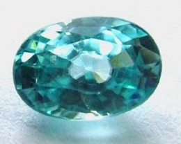 BLUE ZIRCON FACETED STONE 1.70 CTS  PG-1093