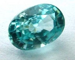 BLUE ZIRCON FACETED STONE 1.45 CTS  PG-1092