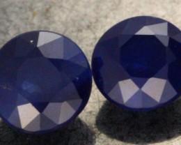 0.98 CTS BLUE SAPPHIRE PAIR [SB058]
