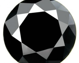 RARE AND IMPORTANT CERTIFIED NATURAL BLACK DIAMOND 3,70 CARATS
