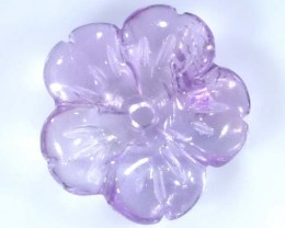 AMETHYST FLOWER CARVING GEM GRADE 5.50 CTS LT-255