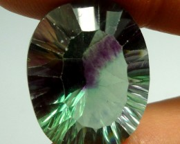 LARGE FLUROITE  BRIGHT VS  GOLDEN  HUES 32.95  CTS  RT 1102