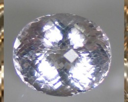 A Rapturous Platinum Pink Natural Amethyst 29.66cts VVS