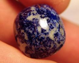 Lapis Lazuli Cabochon 32.73 Carats 21.64mm by 19.34 - Beauty