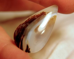 Pretty Agate Pendant Stone - 30.9 Carats - 38mm by 21 by 6