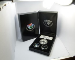 TREASURE SERIES DIAMONDS,OPALS,SILVER COIN  KM 04