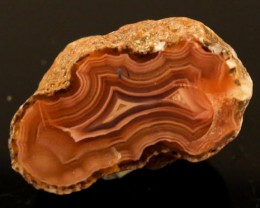 BEAUTIFUL AGATE GEODE MEXICO 66CT JW-31