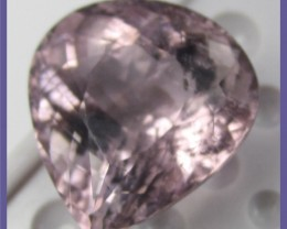 MAGNIFICENT 14.15CT PINKY/MAUVE TOURMALINE PEAR-IMPRESSIVE!!