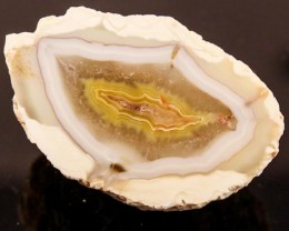 BEAUTIFUL AGATE GEODE MEXICO 108CT JW-53