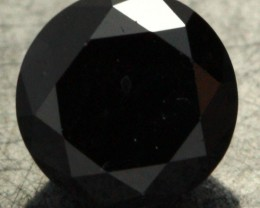 0.860 CTS - CERTIFIED - STUNNING BLACK DIAMOND [BP35343]