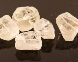 QUARTZ BEAD DRILLED (5PC)  164CTS JW109