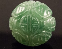 CARVED DRILLED BEAD   62CTS JW-125