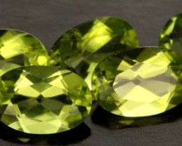 2.51 CTS PARCEL OF 5 PERIDOT GEMS (SB191)