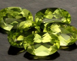 2.38 CTS PARCEL OF 5 PERIDOT GEMS (SB213)