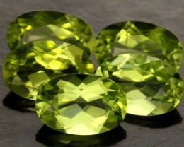 2.30 CTS PARCEL OF 5 PERIDOT GEMS (SB219)