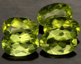 2.52 CTS PARCEL OF 5 PERIDOT GEMS (SB220)